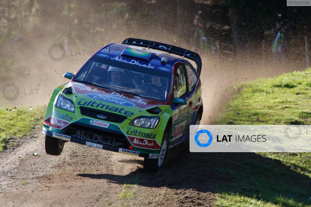 Rally New Zealand, 28th - 31st  August   2008World Copyright: McKlein/LATJari-Matti Latvala, Ford, action