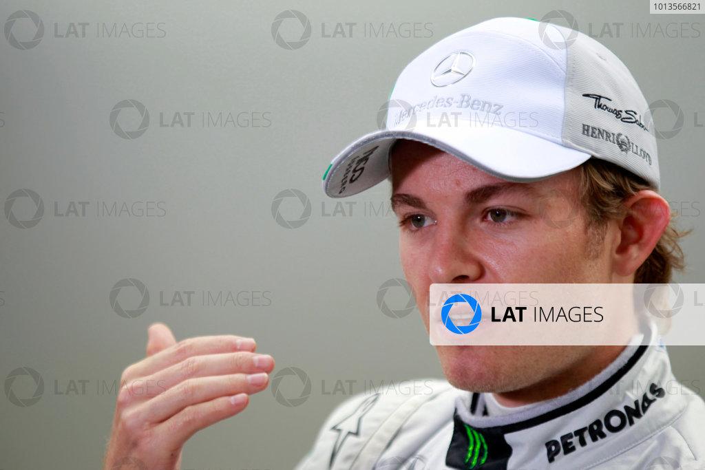 Albert Park, Melbourne, Australia25th March 2011.Nico Rosberg, Mercedes GP W02. Portrait. World Copyright: Charles Coates/LAT Photographicref: Digital Image _X5J6992