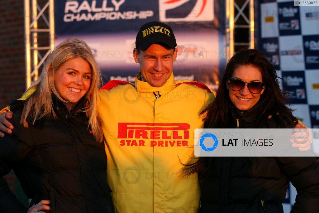 Pirelli International Rally. Carlisle, 30th April 2011.Jukka Korhonen/Marko Salminen - Ford Fiesta.World Copyright: Ebrey/LAT Photographic.