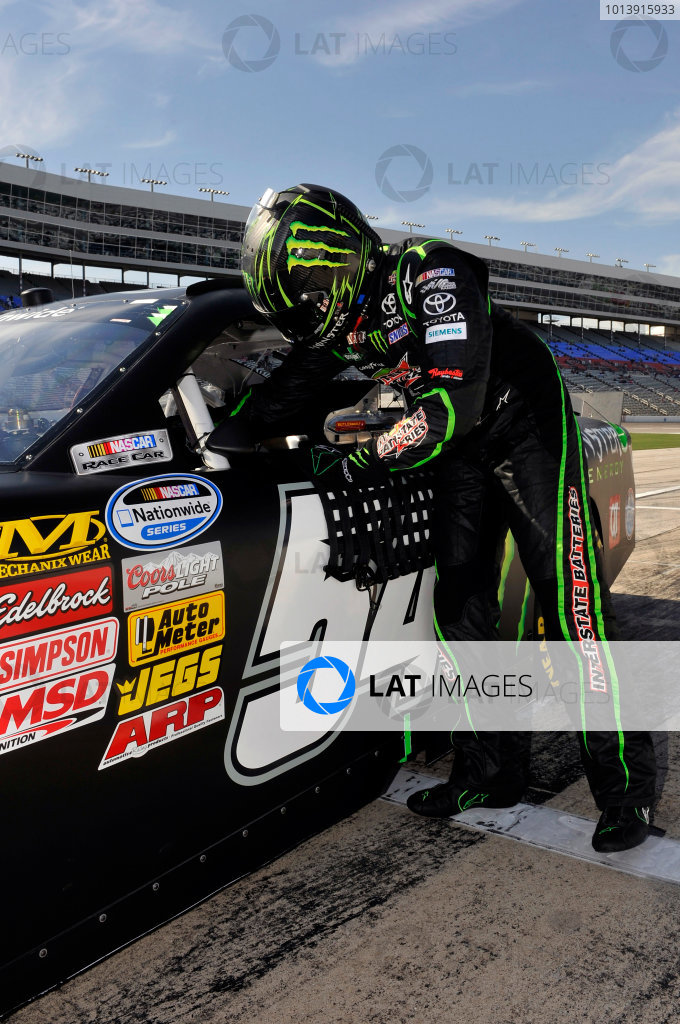 11-12 April, 2013, Fort Worth, Texas USA Kyle Busch, Monster Energy Toyota Camry ©2013, Nigel Kinrade LAT Photo USA