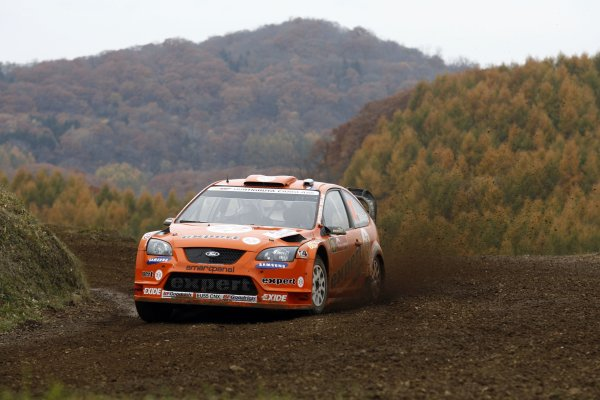 2007 FIA World Rally Champs. Round 14Rally Japan, 25th - 28th October 2007Henning Solberg, Ford, actionWorld Copyright: McKlein/LAT