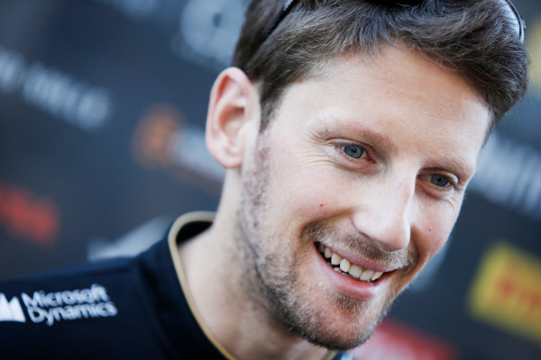 Circuit of the Americas, Austin, Texas, United States of America. Friday 31 October 2014. Romain Grosjean, Lotus F1. World Copyright: Charles Coates/LAT Photographic. ref: Digital Image _J5R6539