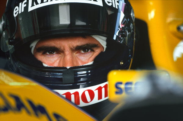 Damon Hill, portrait. 