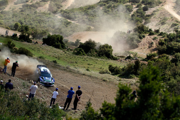 Round 06 - Rally Acropolis, Greece. 24-27 May 2012. Petter Solberg, Ford WRC, Action.  Worldwide Copyright: McKlein/LAT