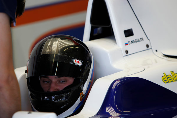 2014 GP3 Series Test 2. Jerez, Spain  Friday 11 April 2014. Dennis Nagulin (RUS, Trident)  Photo: Sam Bloxham/GP3 Series Media Service. ref: Digital Image _G7C1931