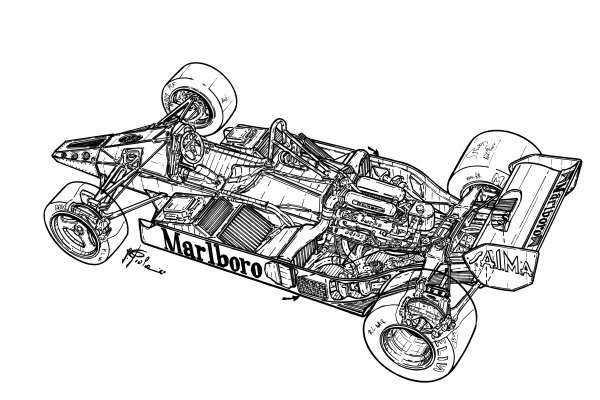 McLaren MP4-1E 1983 detailed overview