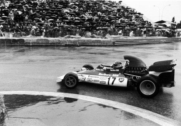 1972 Monaco Grand Prix.Monte Carlo. 14 May 1972.Jean-Pierre Beltoise (BRM P160B), 1st position, action.Ref-4466 #11A.World Copyright - LAT Photographic.