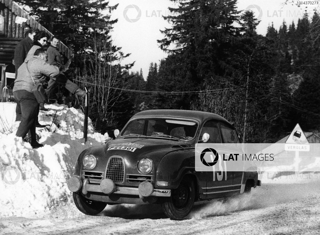 1964 Monte Carlo Rally.