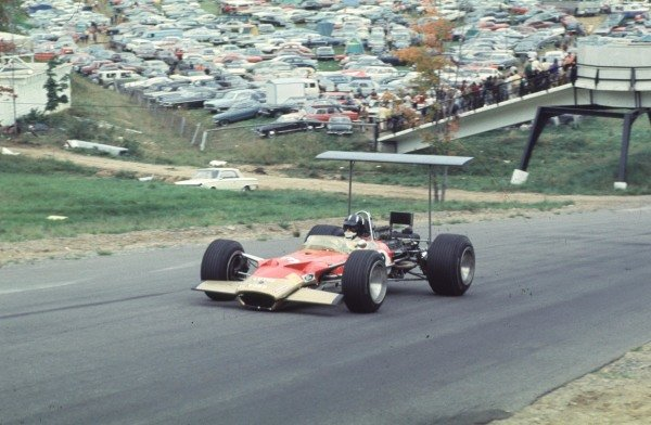 1968 Canadian Grand Prix.Mont-Tremblant, (St. Jovite), Quebec, Canada.20-22 September 1968.Graham Hill (Lotus 49B Ford) 4th position.Ref-68 CAN 09.World Copyright - LAT Photographic