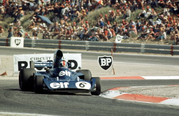 1973 French Grand Prix.Paul Ricard, Le Castellet, France.29/6-1/7 1973.Francois Cevert (Tyrrell 006 Ford) 2nd position.World Copyright - LAT Photographic