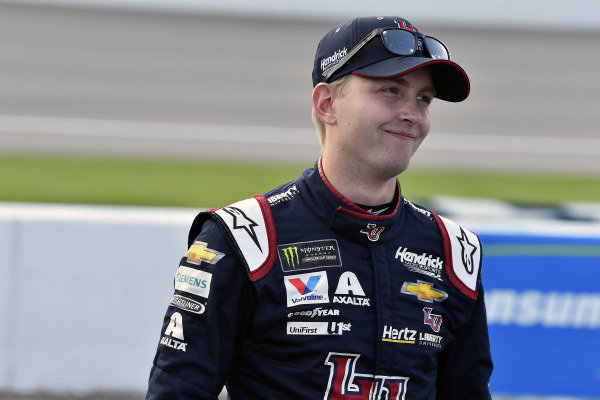 #24: William Byron, Hendrick Motorsports, Chevrolet Camaro Liberty University