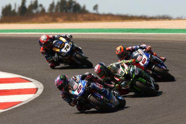 Alex Lowes, Pata Yamaha, Leon Haslam, Kawasaki Racing Team, Michael van der Mark, Pata Yamaha.