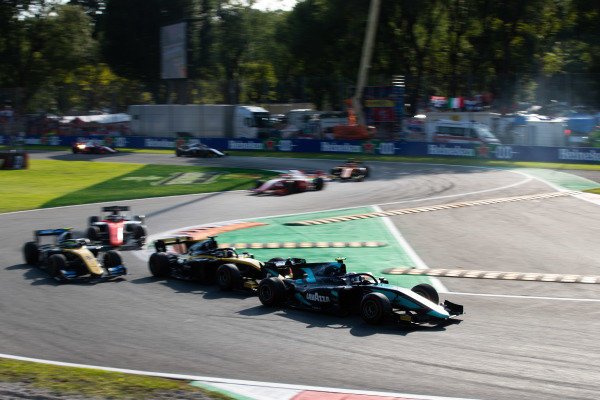 AUTODROMO NAZIONALE MONZA, ITALY - SEPTEMBER 07: Sergio Sette Camara (BRA, DAMS) during the Monza at Autodromo Nazionale Monza on September 07, 2019 in Autodromo Nazionale Monza, Italy. (Photo by Joe Portlock / LAT Images / FIA F2 Championship)