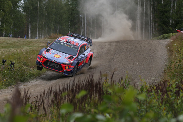 Andreas Mikkelsen (NOR), Hyundai World Rally Team, Hyundai i20 Coupe WRC 2019
