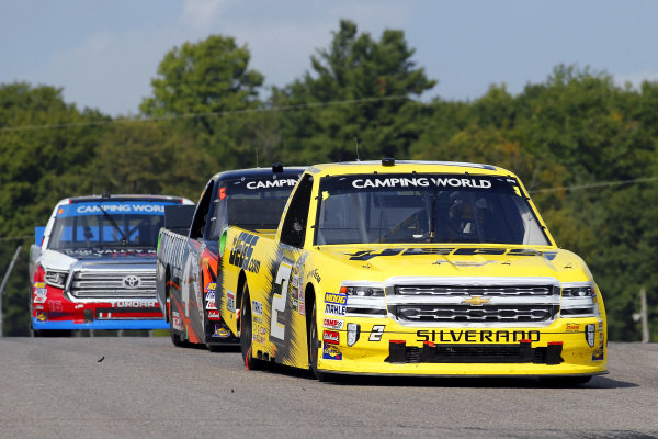 #2: Cody Coughlin, GMS Racing, Chevrolet Silverado JEGS.com and #4: Todd Gilliland, Kyle Busch Motorsports, Toyota Tundra Frontline