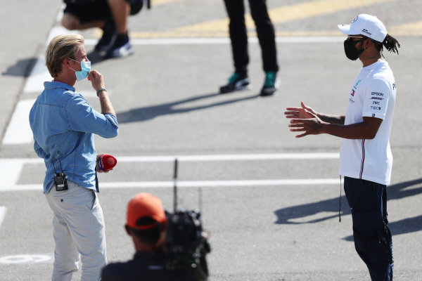 Lewis Hamilton, Mercedes-AMG Petronas F1, and Nico Rosberg