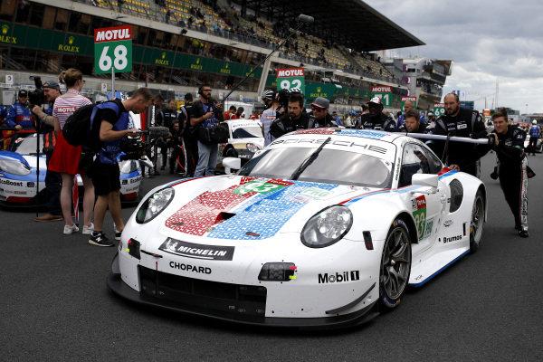 #93 Porsche GT Team Porsche 911 RSR: Patrick Pilet, Nick Tandy, Earl Bamber.