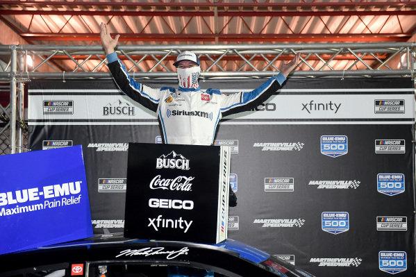 Race winner Martin Truex Jr., Joe Gibbs Racing Toyota SiriusXM, Copyright: Jared C. Tilton/Getty Images.