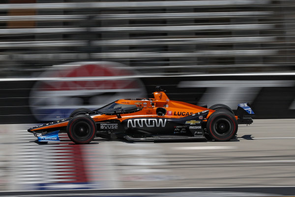 Oliver Askew, Arrow McLaren SP Chevrolet, Copyright: Chris Owens - IMS Photo.