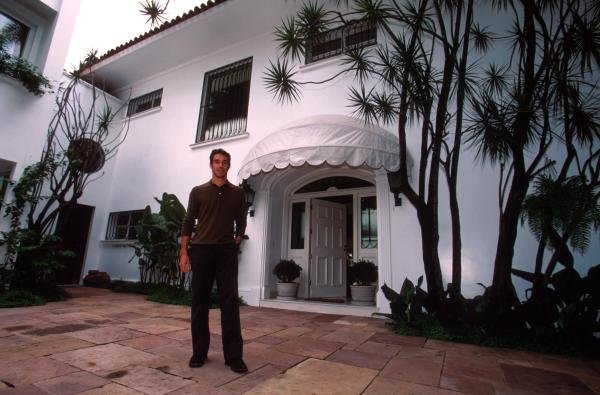 Pedro Diniz at his home in Sao PauloDrivers At Home