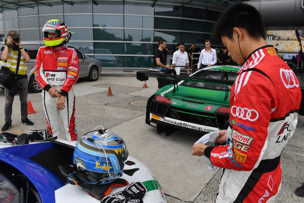 Thong Wei Fung (Shaun) (HK) Audi TEDA Racing Team at Audi R8 LMS Cup, Rd7 and Rd8, Shanghai, China, 8-10 September 2017.