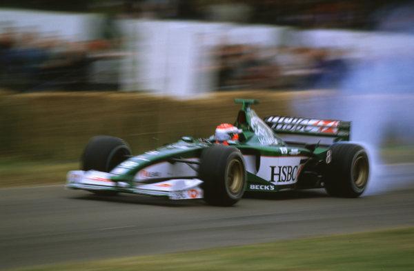2000 Festival of Speed.Goodwood, England, Great Britain. 23-25 June 2000. Johnny Herbert (Jaguar R1).World - LAT Photographic