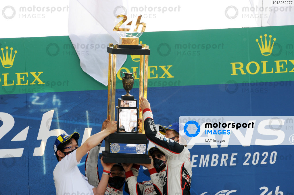 #8 Toyota Gazoo Racing Toyota TS050: Sébastien Buemi / Kazuki Nakajima / Brendon Hartley