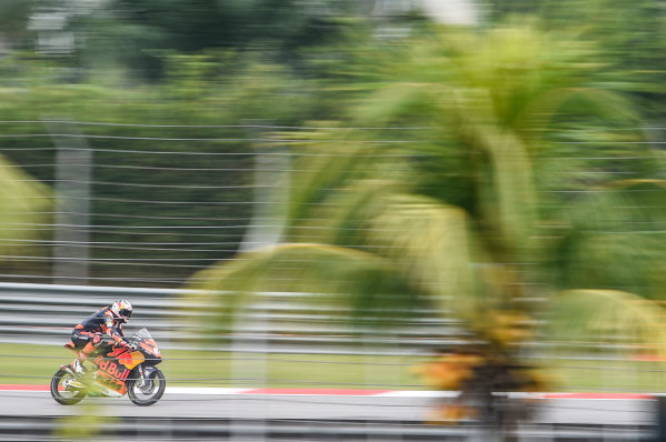 2017 Moto3 Championship - Round 17 Sepang, Malaysia. Friday 27 October 2017 Bo Bendsneyder, Red Bull KTM Ajo World Copyright: Gold and Goose / LAT Images ref: Digital Image 25053