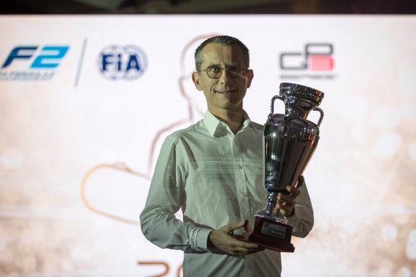 2017 Awards Evening. Yas Marina Circuit, Abu Dhabi, United Arab Emirates. Sunday 26 November 2017.  Photo: Zak Mauger/FIA Formula 2/GP3 Series. ref: Digital Image _56I3661