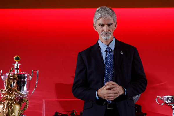 2015 British Racing Drivers Club Awards Grand Connaught Rooms, London Monday 7th December 2015 Damon Hill. World Copyright: Jakob Ebrey/LAT Photographic ref: Digital Image Hill-03