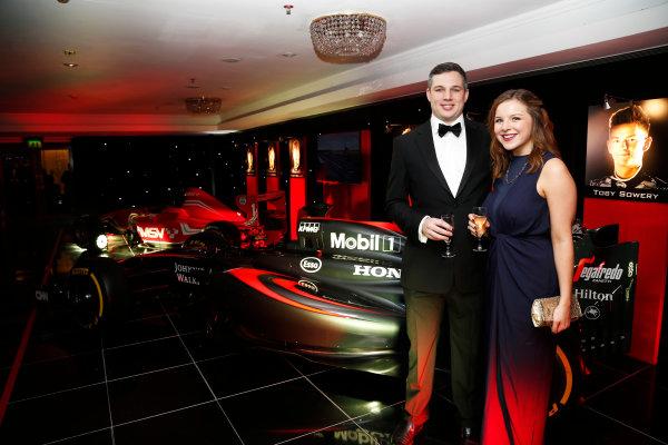 2015 Autosport Awards. Grosvenor House Hotel, Park Lane, London. Sunday 6 December 2015. World Copyright: Adam Warner/LAT Photographic. ref: Digital Image _L5R8980