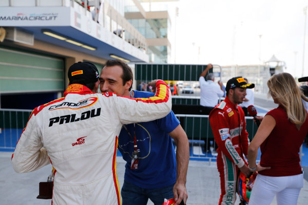 2015 GP3 Series Round 9 Yas Marina Circuit, Abu Dhabi, UAE. Sunday 29 November 2015. Alex Palou (ESP, Campos Racing)  Photo: Sam Bloxham/GP3 Series Media Service. ref: Digital Image _SBL0198