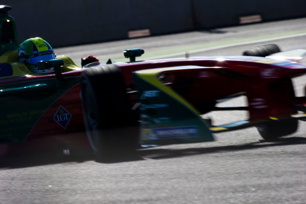 2016/2017 FIA Formula E Championship. Marrakesh ePrix, Circuit International Automobile Moulay El Hassan, Marrakesh, Morocco. Lucas Di Grassi (BRA), ABT Schaeffler Audi Sport, Spark-Abt Sportsline, ABT Schaeffler FE02.  Saturday 12 November 2016. Photo: Sam Bloxham/LAT/Formula E ref: Digital Image _SLA7564