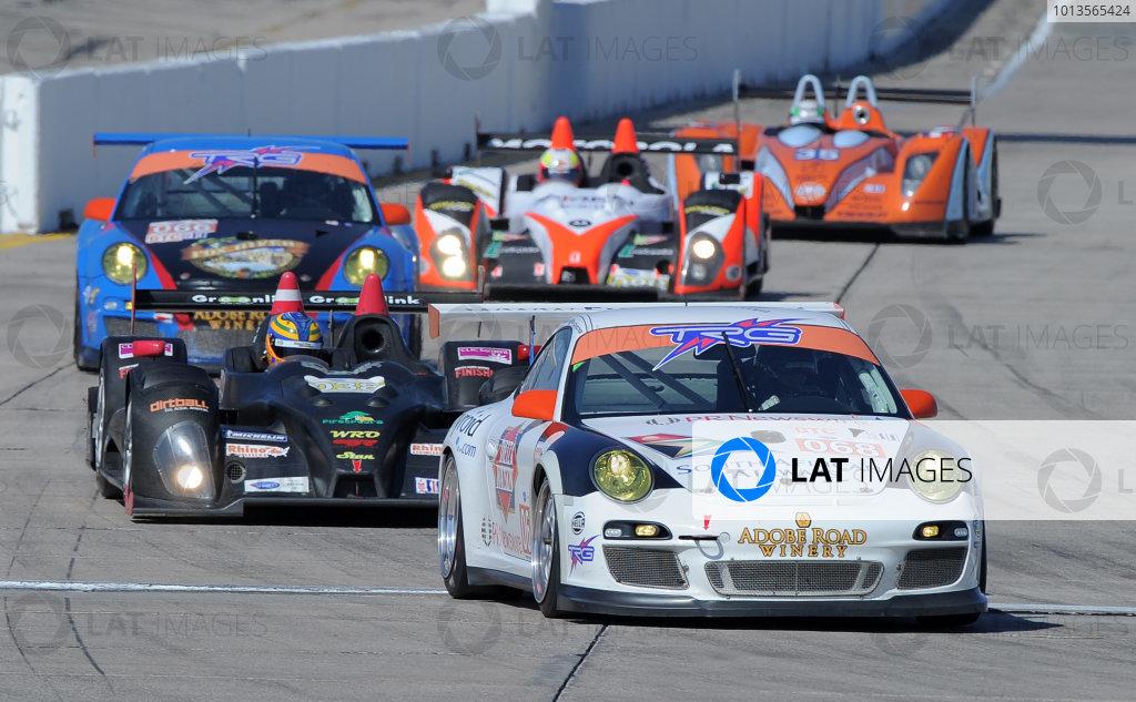 14-19 March 2011. Sebring, Florida USA#068 TRG Porsche 911 GT3 Cup©2011 Dan R. Boyd LAT Photo USA