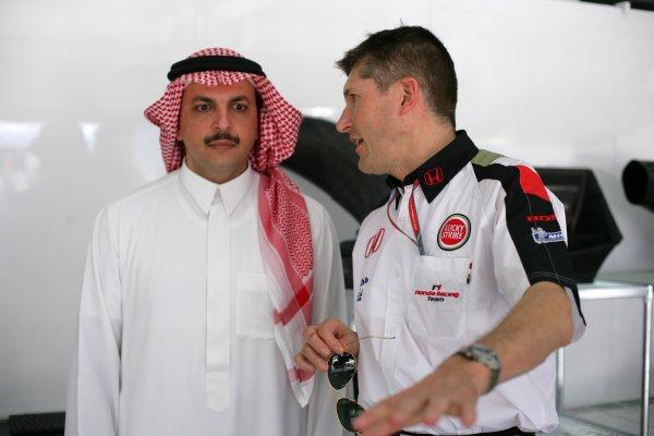 2006 Bahrain Grand Prix - Thursday PreviewBahrain International Circuit, Sakhir, Bahrain9th - 12th March.Nick Fry, Honda Racing F1 CEO. Portrait. World Copyright: Lorenzo Bellanca/LAT Photographicref: Digital Image ZD2J1217.