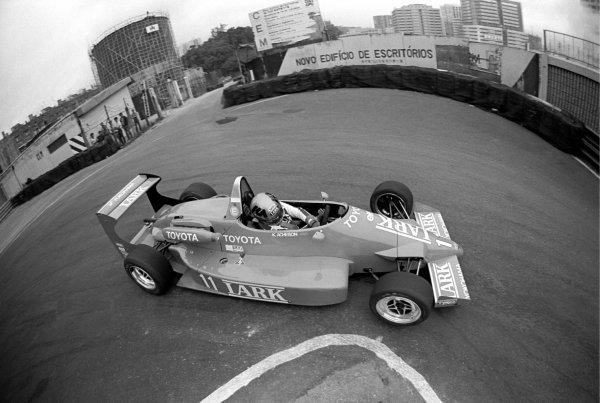 Kenny Acheson (GBR). Macau Formula Three Grand Prix, Guia Circuit, Macau, 25 November 1985.