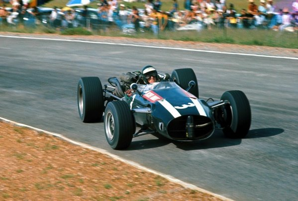 Jochen Rindt (AUT) Cooper Maserati T81, retired on lap 39.