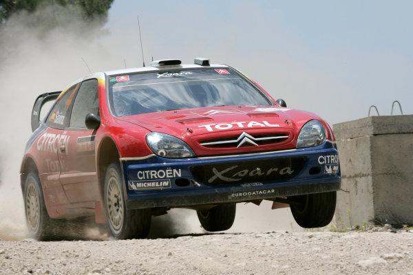 2004 FIA World Rally Champs. Round seven, Rally Turkey.24th- 27th June 2004.Carlos Sainz, Citroen, action.World Copyright: McKlein/LAT