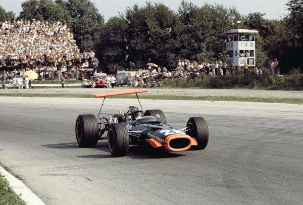 1968 Italian Grand Prix.Monza, Italy.6-8 September 1968.Pedro Rodriguez (BRM P138).Ref-68 ITA 48.World Copyright - LAT Photographic