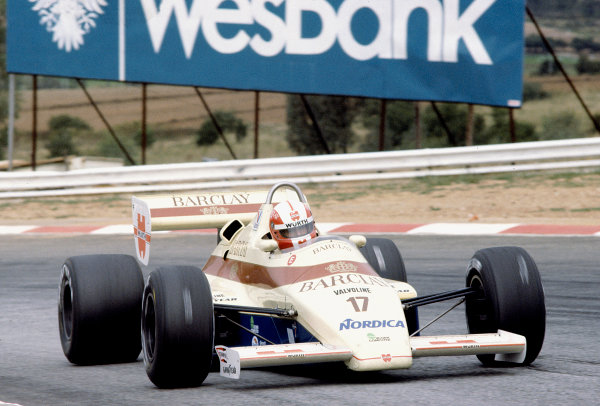 1984 South African Grand Prix.