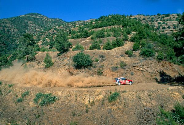 2003 World Rally ChampionshipRally of Cyprus, Cyprus. 19th - 22nd June 2003.Carlos Sainz/Marc Marti (Citroen Xsara), action.World Copyright: McKlein/LAT Photographicref: 03WRCCyprus17