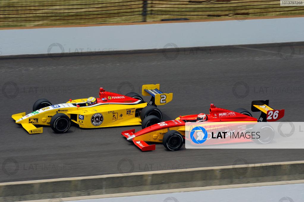 24-25 May, 2012, Indianapolis, Indiana, USAGustavo Yacaman (#2) and Carlos Munoz (#26)(c)2012, F. Peirce WilliamsLAT Photo USA