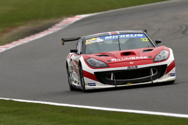 2017 Ginetta GT4 Supercup,  Brands Hatch, 1st-2nd April 2017 Charlie Ladell Rob Boston Racing Ginetta G55 World Copyright. JEP/LAT Images