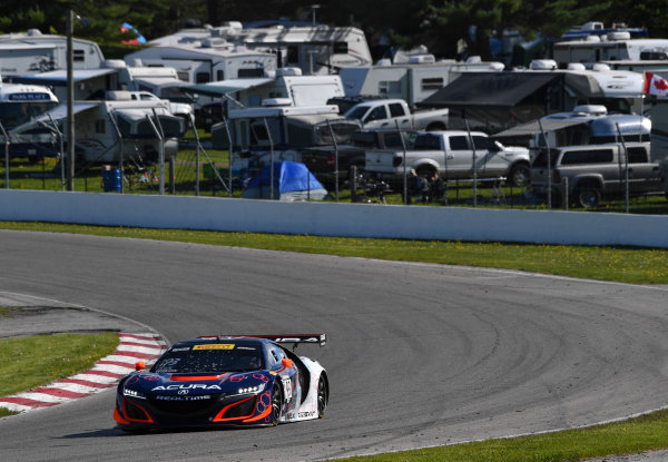 Pirelli World Challenge Victoria Day SpeedFest Weekend Canadian Tire Motorsport Park, Mosport, ON CAN Friday 19 May 2017 Peter Kox/ Mark Wilkins World Copyright: Richard Dole/LAT Images ref: Digital Image RD_CTMP_PWC17033