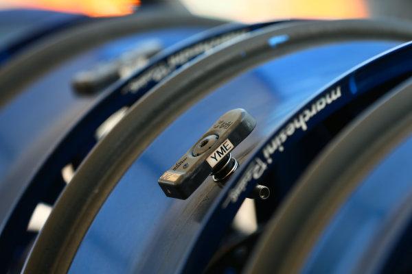 2017 Superbike World Championship - Round 6 Donington Park, UK. Thursday 25 May 2017 Tyre and wheel sensor World Copyright: Gold and Goose Photography/LAT Images ref: Digital Image 672283