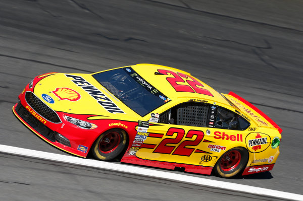 Monster Energy NASCAR Cup Series Bank of America 500 Charlotte Motor Speedway, Concord, NC Friday 6 October 2017 Joey Logano, Team Penske, Shell Pennzoil Ford Fusion World Copyright: Matthew T. Thacker LAT Images