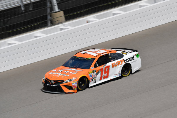 Monster Energy NASCAR Cup Series Pure Michigan 400 Michigan International Speedway, Brooklyn, MI USA Friday 11 August 2017 Daniel Suarez, Joe Gibbs Racing, ARRIS Surfboard / McAfee Toyota Camry World Copyright: Logan Whitton LAT Images