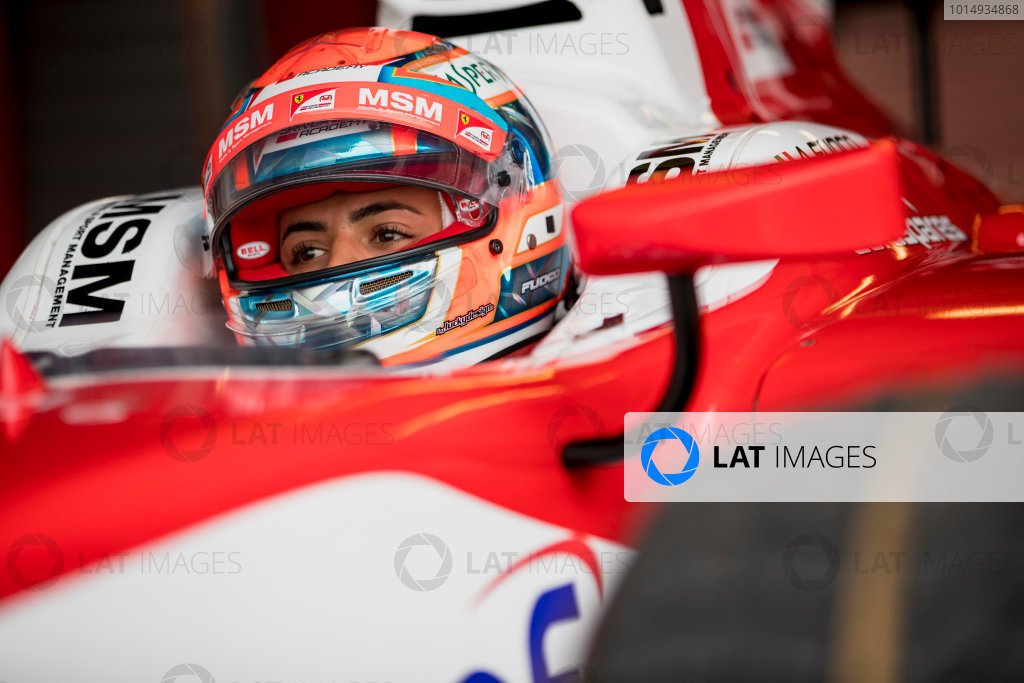 2017 FIA Formula 2 Round 8. Spa-Francorchamps, Spa, Belgium. Friday 25 August 2017. Antonio Fuoco (ITA, PREMA Racing).  Photo: Zak Mauger/FIA Formula 2. ref: Digital Image _56I1454