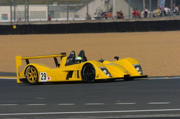 2007 Le Mans Test Day2nd and 3rd June 2007.Le Mans, France.Sunday Test DayRobin Longechal (FRA)/Yutaka Yamagishi (JPN)/Yamagishi Terada (JPN) (no 29 Dome Mader S101-5) action.World Copyright: Jeff Bloxham/LAT Photographic. ref: Digital Image DSC_6843