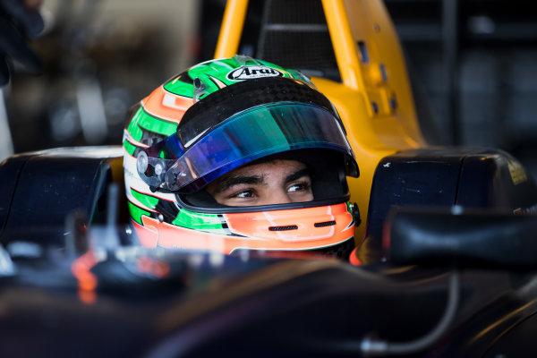 2017 GP3 Series Test 5. Yas Marina Circuit, Abu Dhabi, United Arab Emirates. Thursday 30 November 2017. Jehan Daruvala (IND, Arden International).  Photo: Zak Mauger/GP3 Series Media Service. ref: Digital Image _O3I2695